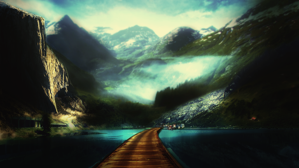 Fjord by GFX-3ngine