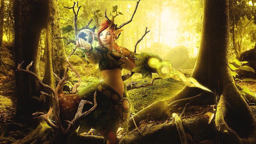 Enchantress Dota 2 by GFX-3ngine