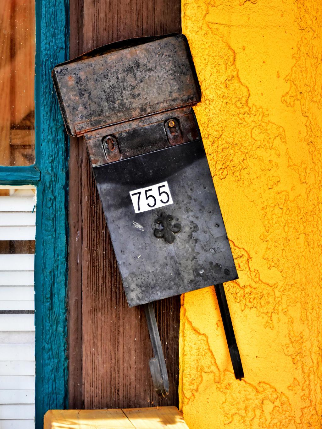 Crooked Mail Box