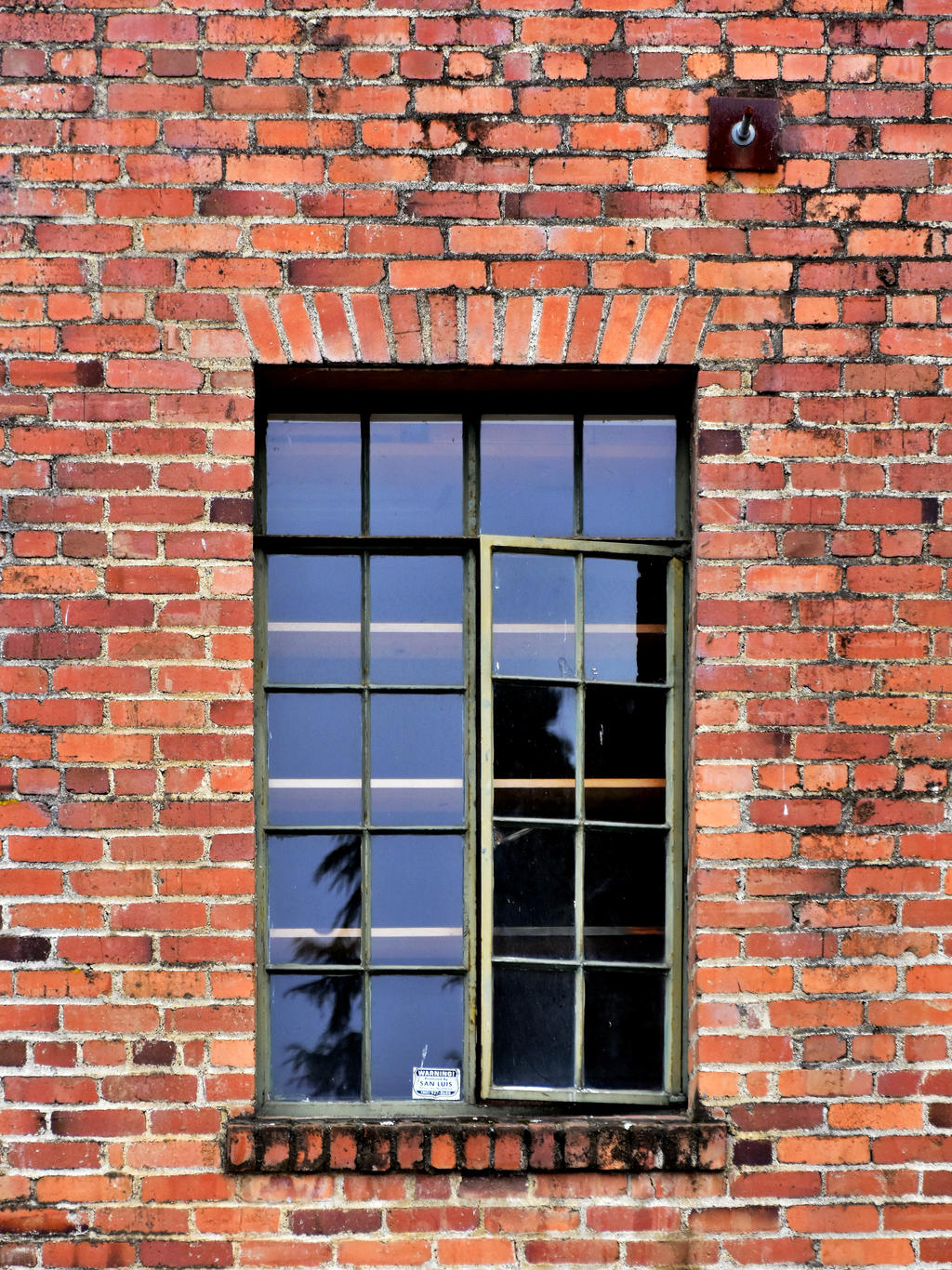 Red Brick Window
