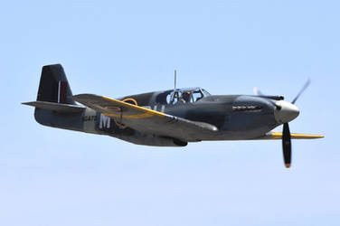 North American P-51A Mustang by MotorCrazy