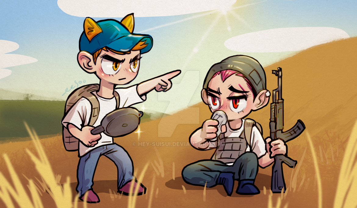 Best Duo In PUBG! By Hey-SUISUI On DeviantArt