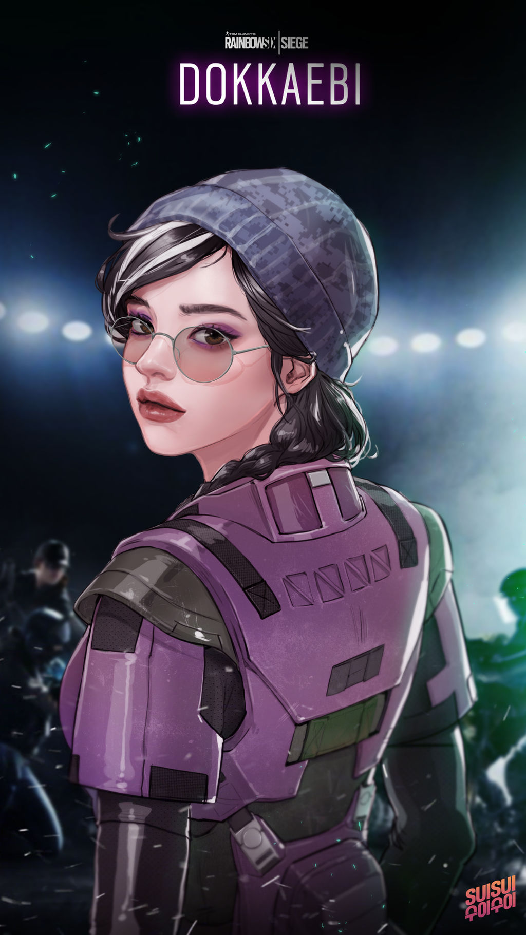 Rainbow Six Siege Dokkaebi 2 By Hey Suisui On Deviantart