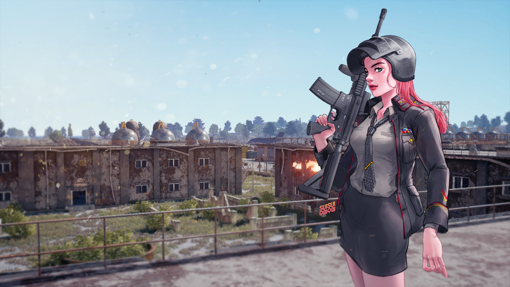 PUBG Erangel Resistance Force Outfit! By Hey-SUISUI On