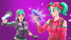 Fortnite ZOEY and TEKNIQUE by Hey-SUISUI