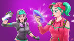 Fortnite ZOEY and TEKNIQUE