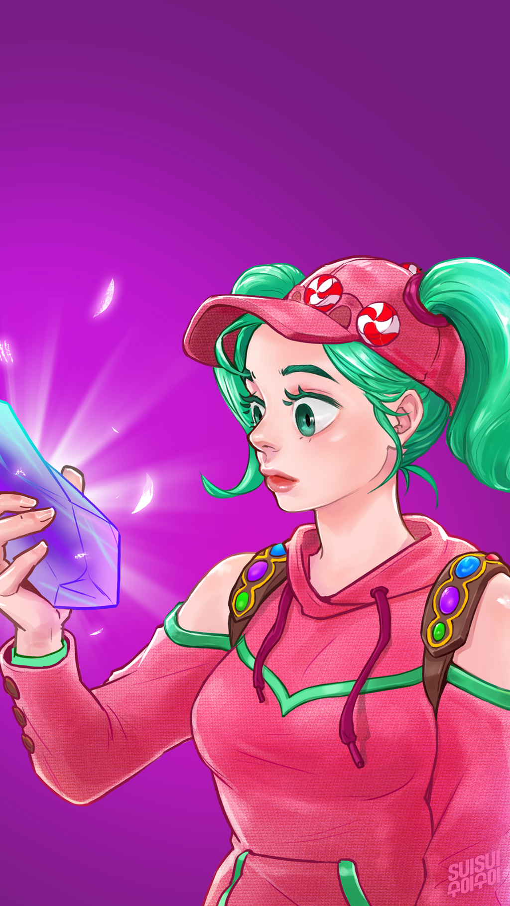 Fortnite Zoey By Hey-Suisui On Deviantart-5989