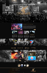 Team Authentic gaming layout + logo by inn21