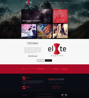 31337 eSports gaming template 4 SALE