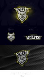 LAZER WOLVES | e-sports logo