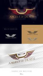 Angels of Death - female e-sports logo