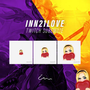 inn21Love Twitch Emote