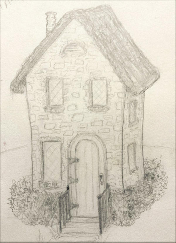 Little Whimsical Cottage by DLindsey