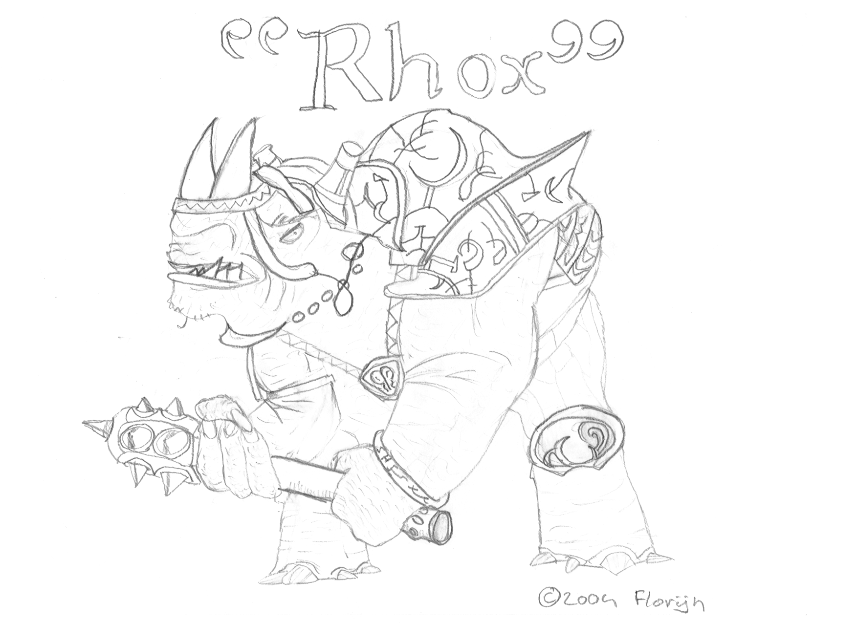 rhox sketch by Sulomo