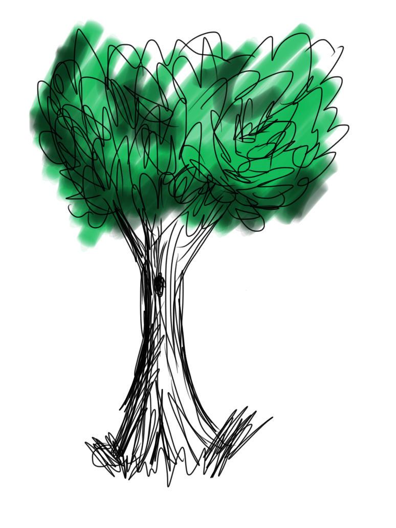 SKETCH A TREE by Olingi
