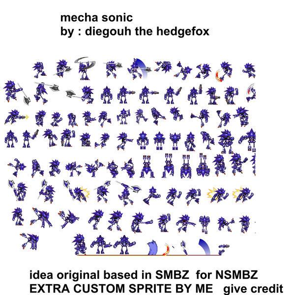 Mecha Sonic Smbz