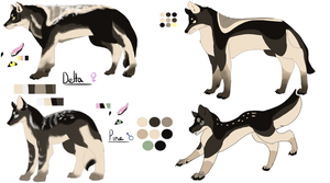 {Ref sheet} Delta and Pine Redesigns
