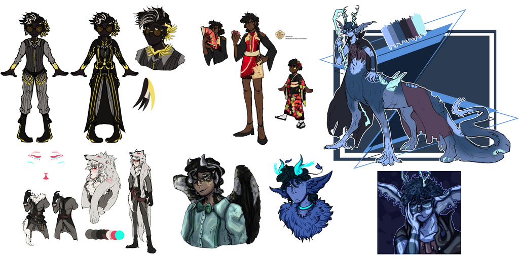 {Art Dump} Consistency is overrated