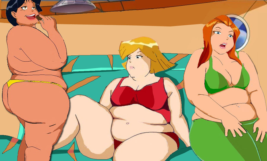 Chubby totally spies