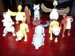 Alpha and Omega Mcdonalds Toys