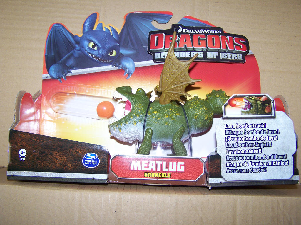 How To Train Your Dragon Meatlug Figure By Doctorjock