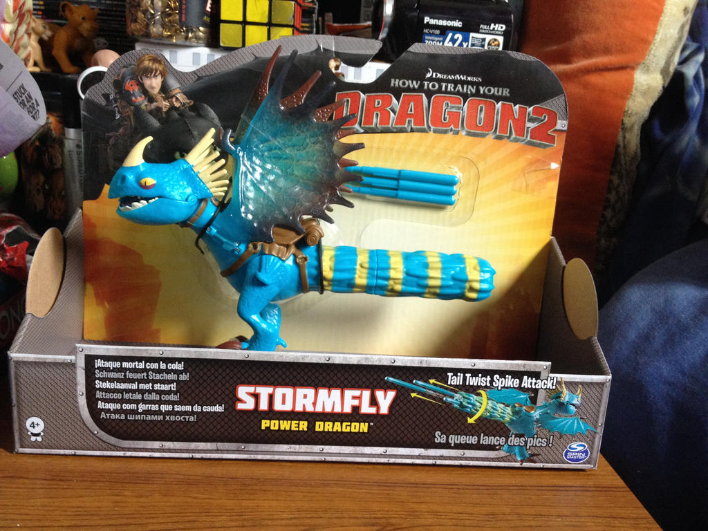 how to train your dragon stormfly toy