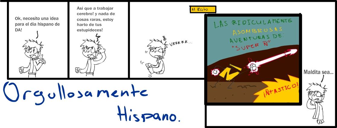 Orgullosamente Hispano by maneco