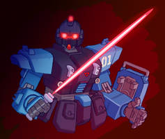 Blue Destiny Unit 1 by maneco