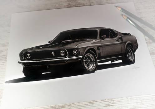 Mustang Mach1 351