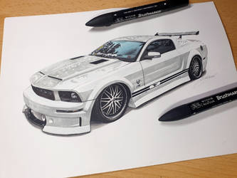 Stang Vibes on paper