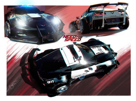 Need For Speed - WhiteSnake's Corvette