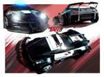 Need For Speed - WhiteSnake's Corvette by HellBoss-WG