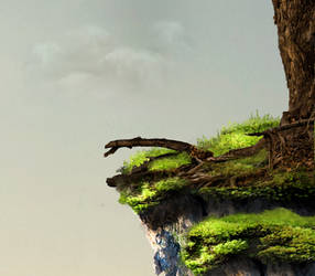Cliff Edge Background by Nitwitbrit