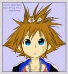 Coloreado Sora- Kingdom hearts
