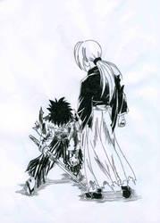Kenshin y Yahiko by Kozihikalove