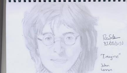 John Lennon by rodasaow