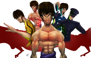 Bruce Lee by ZeyJin
