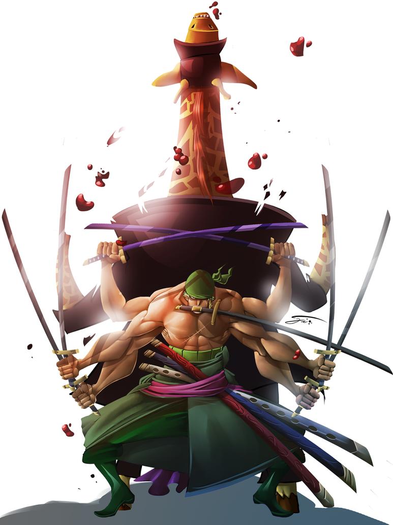 Roronoa Zoro Ashura Wallpaper T One Piece Zoro And