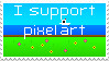 Pixel Art Supportstamp by Ascerious