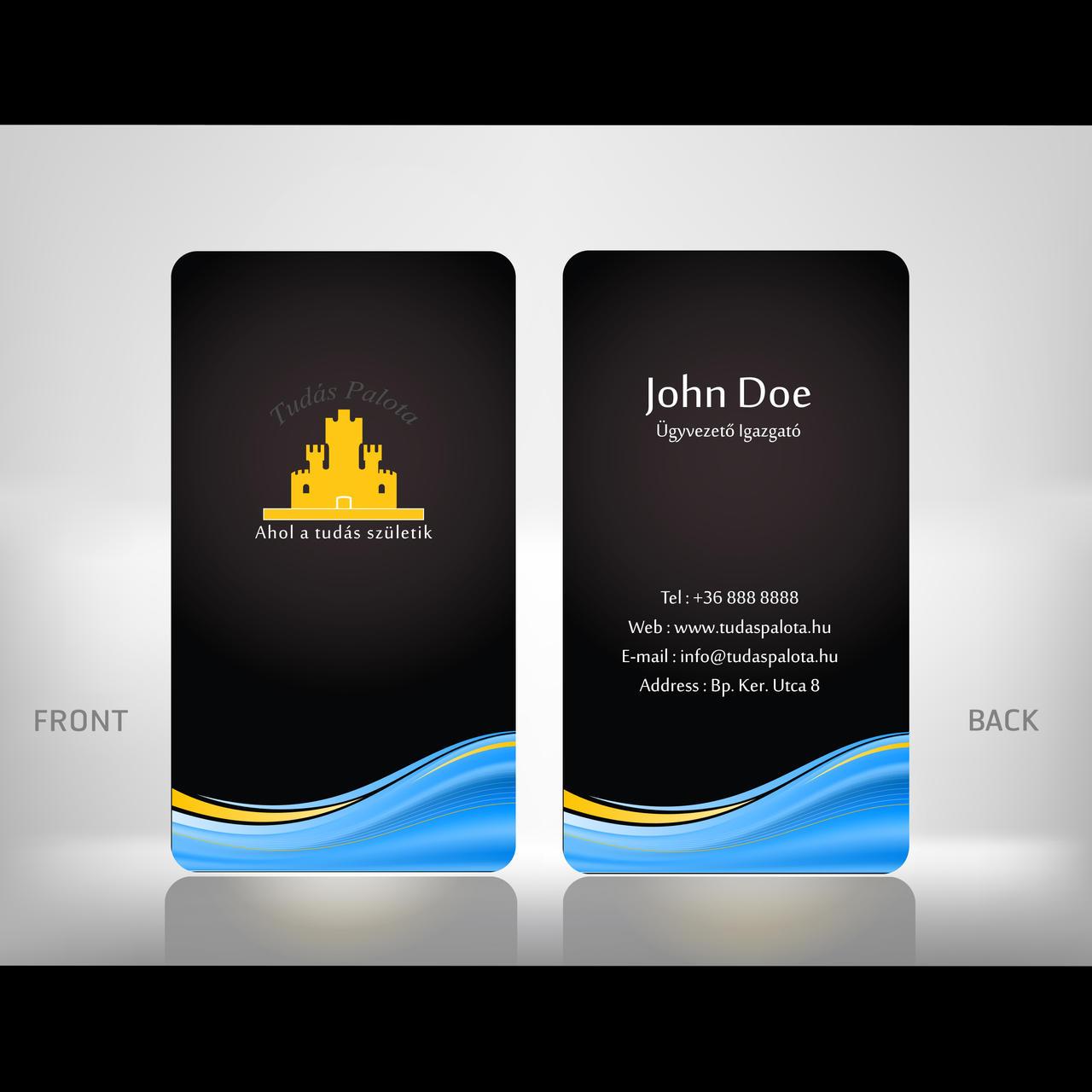 TudasPalota Business Card Sample by Hektor1020 on DeviantArt – Business Card Sample