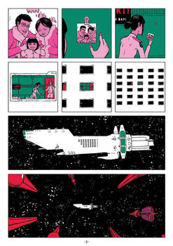 Space Girl Ch1 Pg1