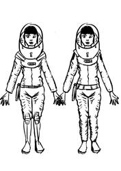 Space Girl - space suit concepts