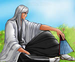 Bleach Resting Ukitake -Color