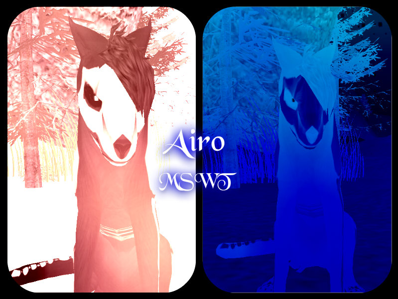 Airo Lead Female Of Slitua Wolfeling Middlers by FeralHeartMaddness