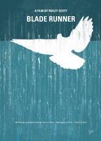 No011 My bladerunner minimal movie poster by Chungkong