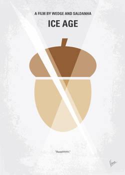 No041 My Ice Age minimal movie poster