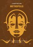 No052 My Metropolis minimal movie poster