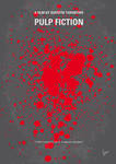 No067 My Pulp Fiction minimal movie poster