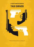 No087 My Taxi Driver minimal movie poster by Chungkong