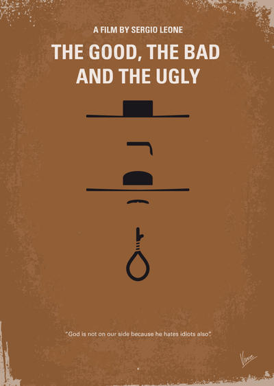 No090 My The Good The Bad The Ugly minimal movie p